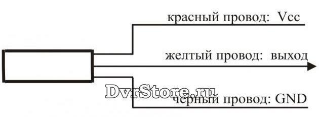 Схема подключения микрофона МИК-11М