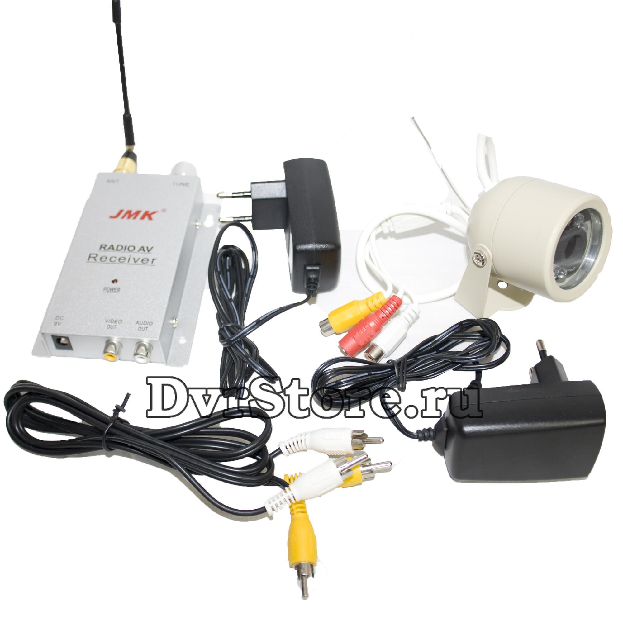 Беспроводная аналоговая камера ночного видения