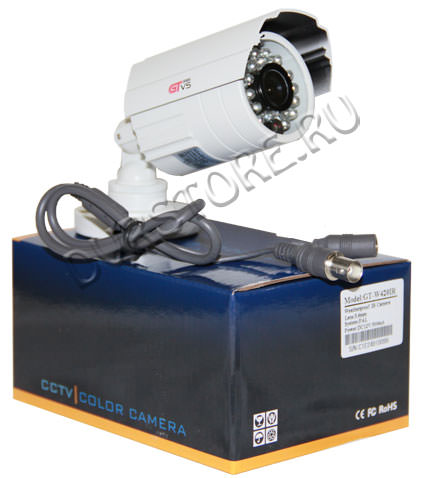 Цветная камера видеонаблюдения GT-W420IR