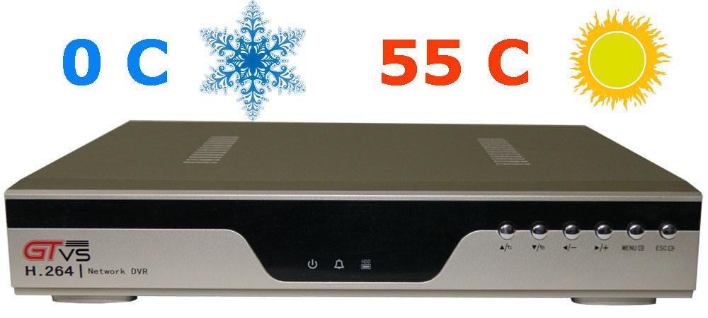 Условия эксплуатации цифрового видеорегистратора для видеонаблюдения GTR-44RT