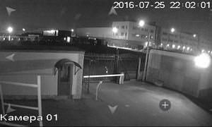 Установка видеонаблюдения на автостоянке