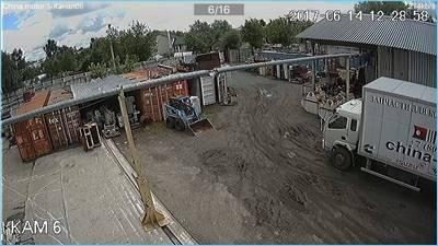 Установка наружных систем видеонаблюдения